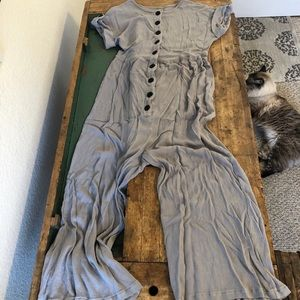 Other - Gray romper ankle length, sz small